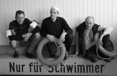 FREISCHWIMMER = Axel Wagner (Sprecher), Andreas Kloker, Janos Fischer