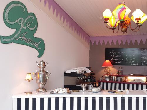 Das wunderschöne Café,