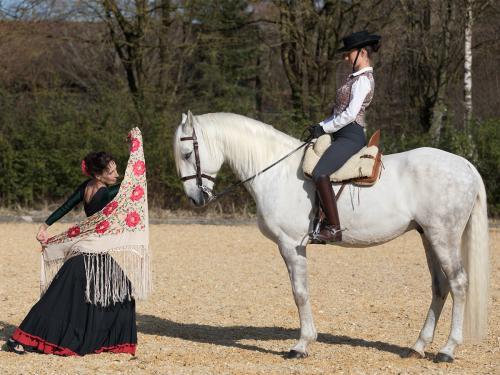 """""""Flamenco mit Pferd"""" / Rahel Schröder und Katalin Fischer @ 2019"""