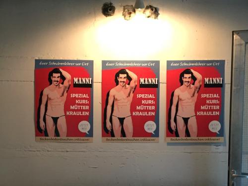 """""""Schwimmlehrer Manni"""" / Dirk Eckert @ 2019"""